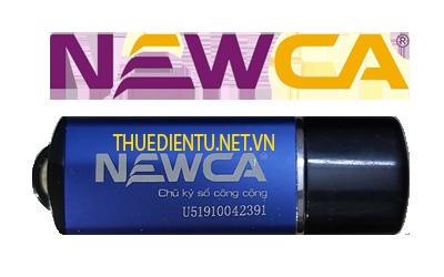 Mẫu đăng ký sử dụng chữ ký số newca