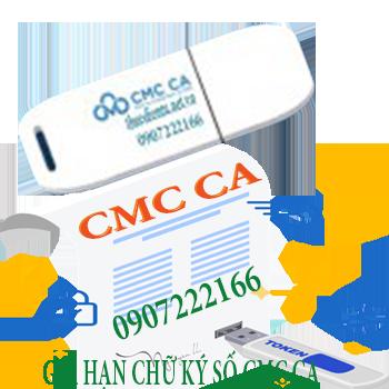 Bảng giá chữ ký số CMC Ca