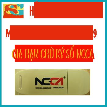 Gia hạn chữ ký số NCCA (NC-ca), miễn phí mùa covid19