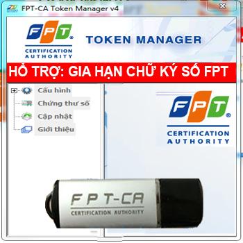 Các bước: Gia hạn chữ ký số FPT