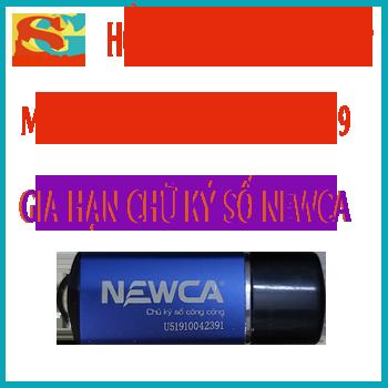Cách gia hạn chữ ký số Newca 3 năm