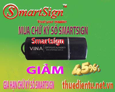 Báo giá mua chữ ký số smartsign