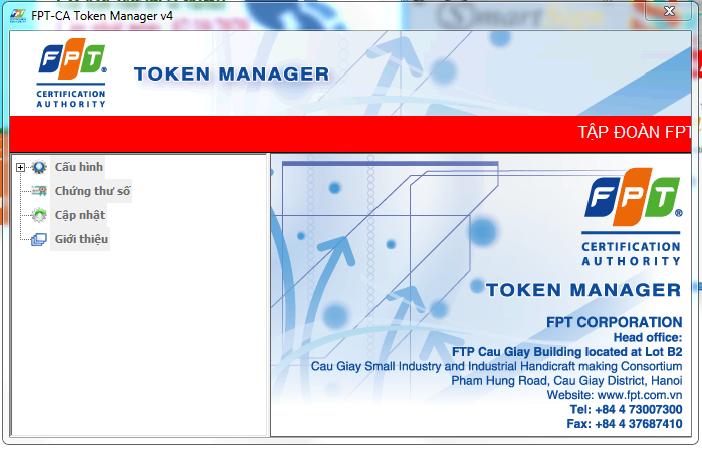Hướng dẫn cách: Gia hạn token FPT-Ca