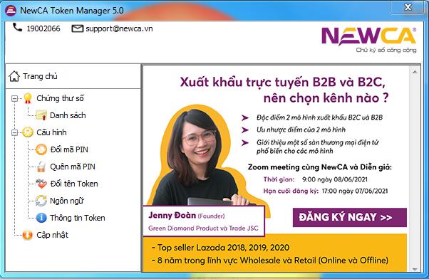 Chính sách giảm giá: Gia hạn chữ ký số Newca