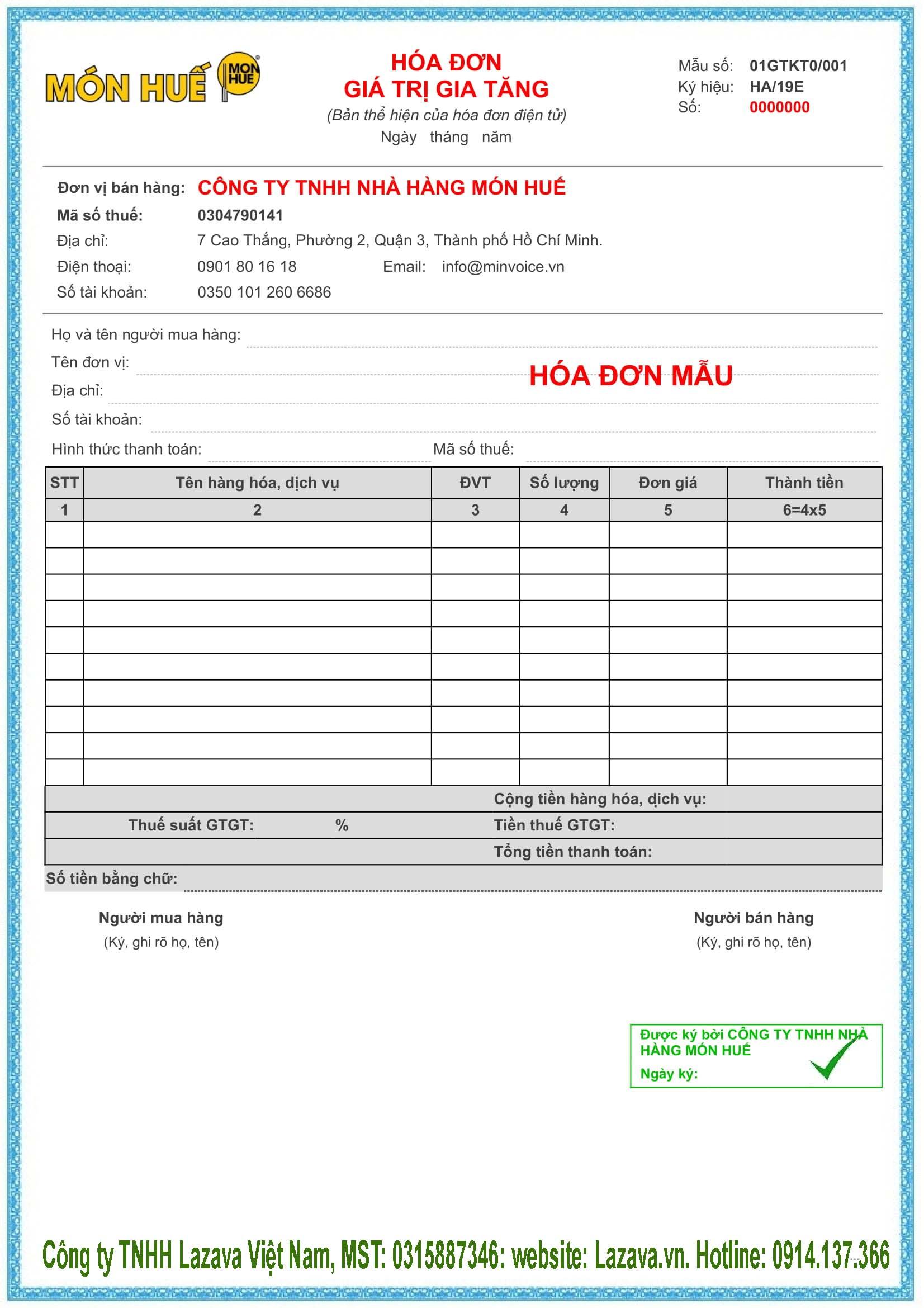Mua hóa đơn điện tử Vina ở Đà Nẵng