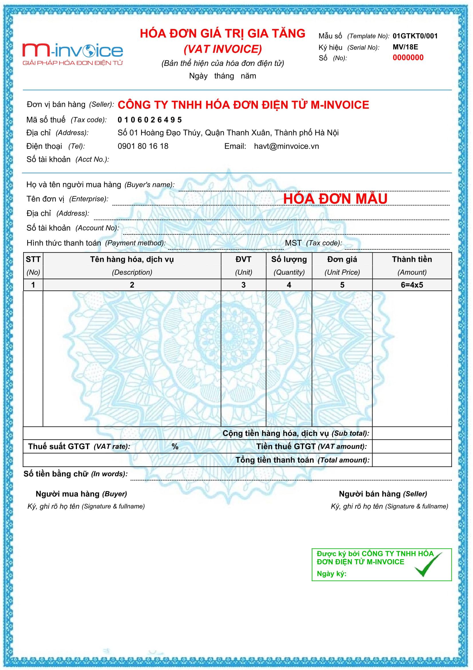 hóa đơn điện tử TP Hồ Chí Minh