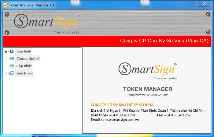 Chính sách: Gia hạn token Smartsign